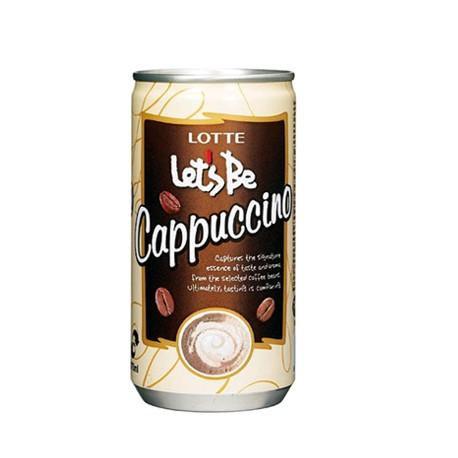 Кофейный напиток Lotte Let's Be Cappucino 175 мл (30 шт.)