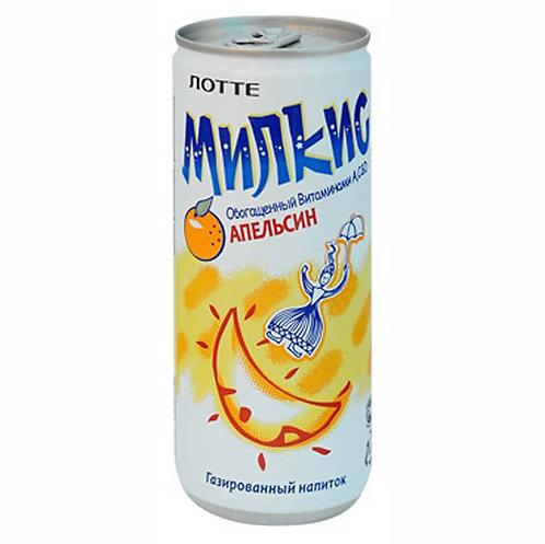 Напиток МИЛКИС LOTTE   Апельсин, с газом 250 мл (30 шт)
