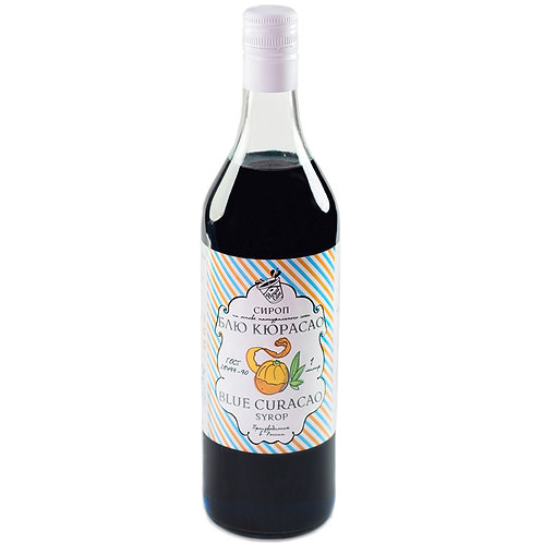 Сироп Royal Cane Блю Кюрасао 1 литр, стекло (6 шт.)