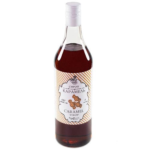 Сироп Royal Cane Карамель 1 литр, стекло (6 шт.)
