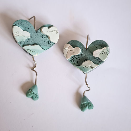 """Sunday Love"" earrings"