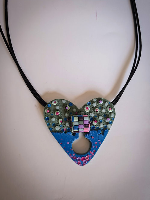 """""""Pieces of my Heart"""" necklace"""