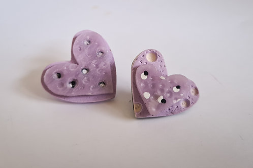 """Lilac and Lovely"" earrings"