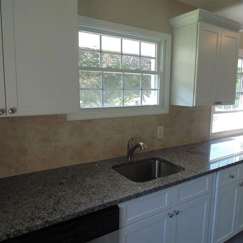 Granite, all new kitchen
