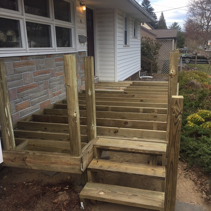 Framing the deck