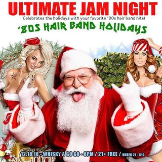 80s Hair Band Holidays