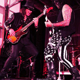 with Alex Grossi and Quiet Riot 2018