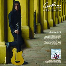 Godin Guitars Magazine ad