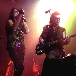 With Alice Cooper 2002