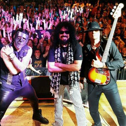 With Quiet Riot in Milan Italy 2018