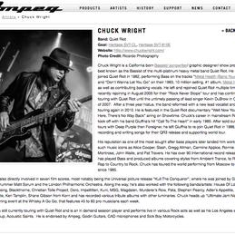 Ampeg website
