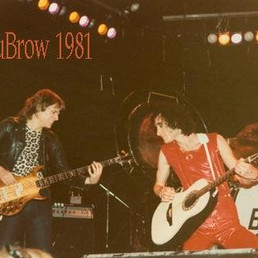At the Whiskey A Go Go with Kevin DuBrow 1981