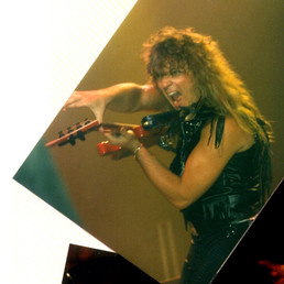 On tour with Quiet Riot 1987
