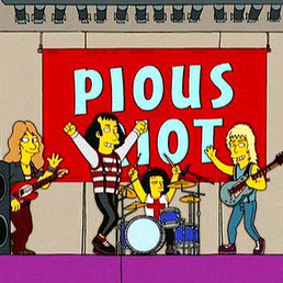 Quiet Riot appears on The Simpsons