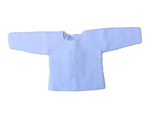 White cotton baby jumper/ Camisola bebe de algodão branca