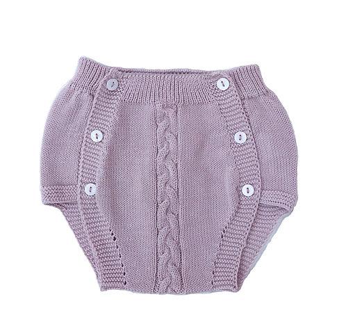 Pink Cotton nappy cover/ Tapa fraldas malha cor de rosa