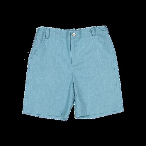 Emerald linen shorts/ Calções linho esmeralda
