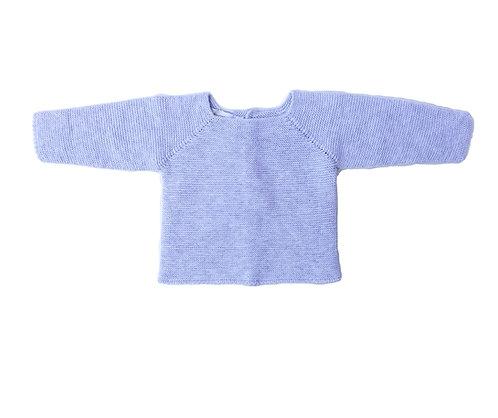 Grey cotton baby jumper/ Camisola bebe de algodão cinzento