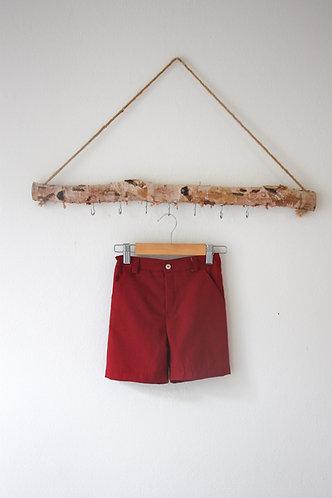 Burgundy shorts/ Calções cintura cor de vinho
