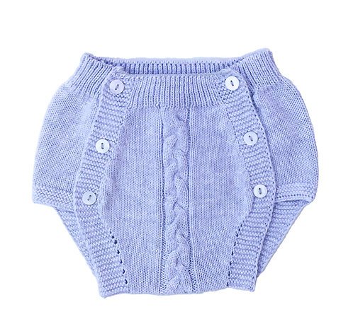 Grey Cotton nappy cover/ Tapa fraldas malha cinzneto
