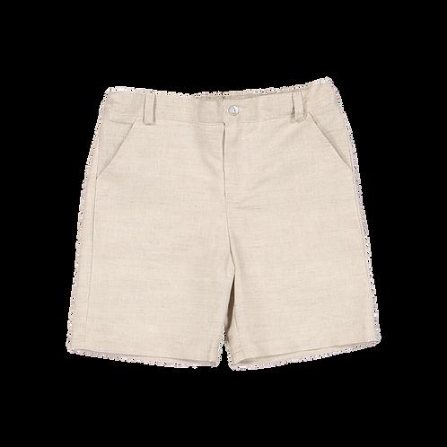 Beige linen shorts/ Calções de linho beges