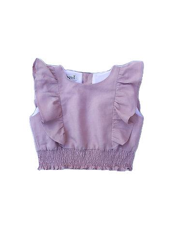 Pink bodice for dress/ Corpete cor de rosa para vestido