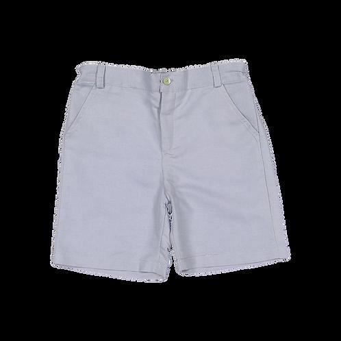 Greyish blue linen shorts/Calções linho azul acinzentado
