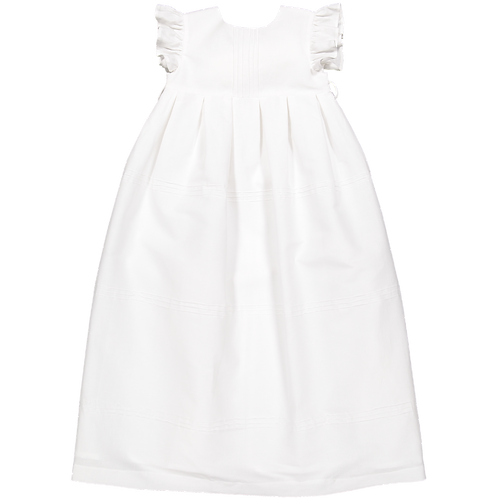 Pack ( 1 of each size) White long dress with ribs