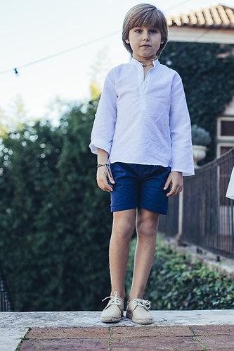 Dark blue shorts/ Calções cintura azul escuro