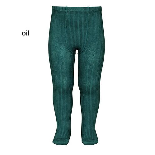 Oil Rib tights