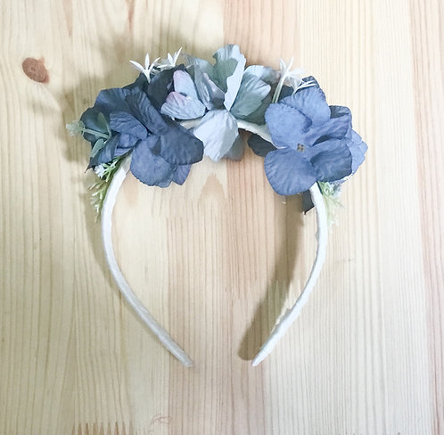 Flower headband/Bandelete de flores