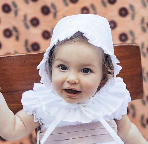 Linen bonnet/ Touca de Linho