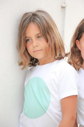 Green Spot t-shirt unisex / T-shirt verde bola unisexo
