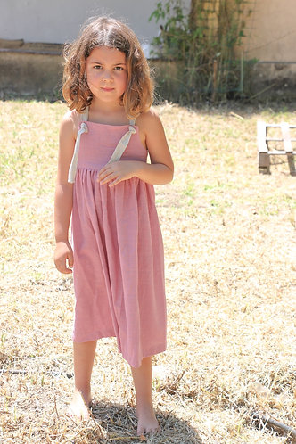 Midi pink dress/ Vestido midi cor de rosa