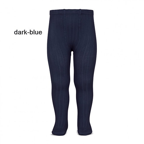 Dark blue Rib tights