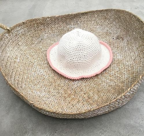 Crochet hat pink / chapéu de crochet cr