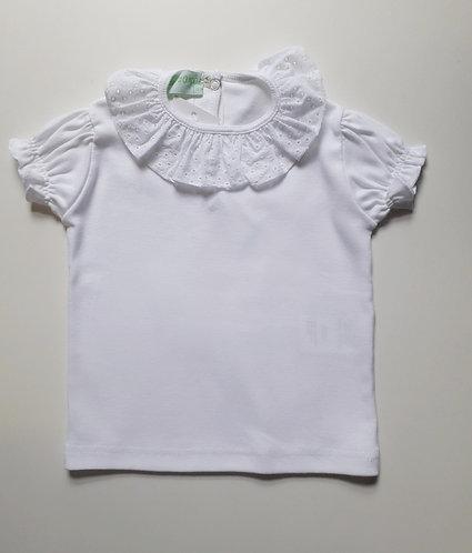 T-shirt de folho bordado