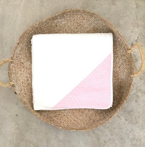 Pink Baby bath towel/Toalha de banho bebe cr