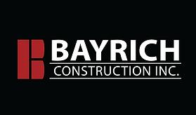 Bayrich Logo Black Background
