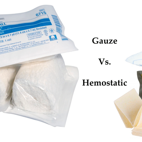 Gauze or Hemostatic Dressing?