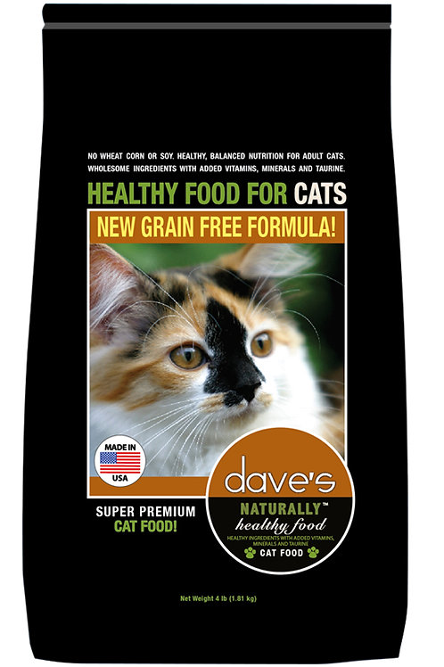 Dave's Naturally Healthy Adult Dry Cat Food