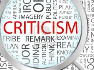 What's Wrong With Criticism