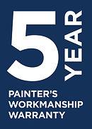 5 Year Painter's Workmanship Warranty_CM