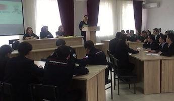 Тема встречи «Профилактика экстремизма и терроризма»
