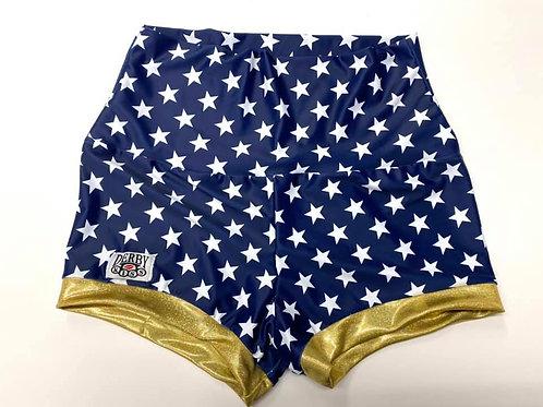 Super Hero Stars Derby Shorts