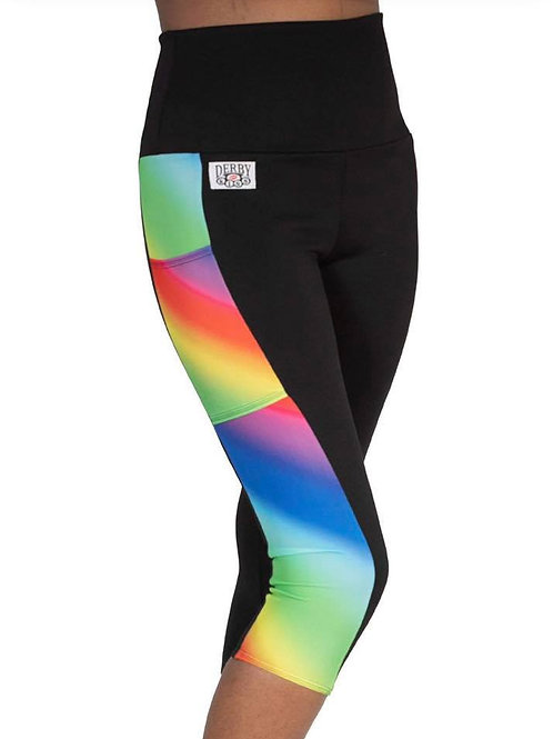 Rainbow Capris Side Panels with POCKETS