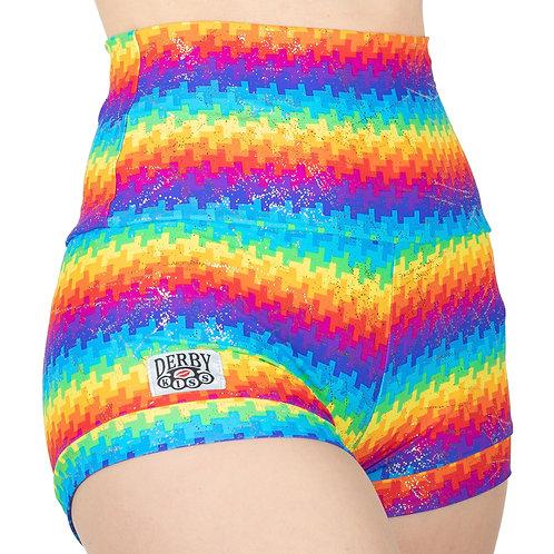 Holographic Geometric Rainbow Shorts