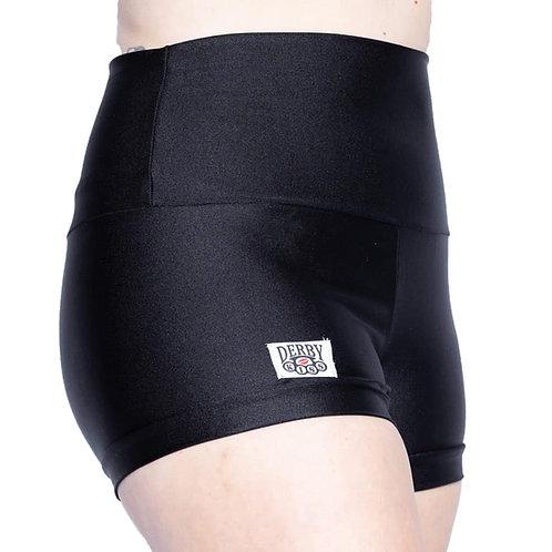 Black Derby Shorts