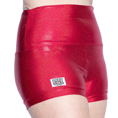 Holographic Red Shorts