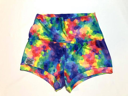 Rainbow Brite Shorts